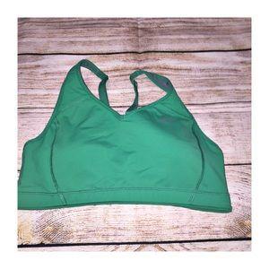Nike Drifit Sports Bra Green Size M